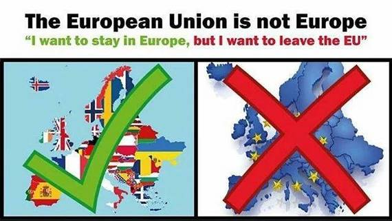 Stay in Europe, leave EU,