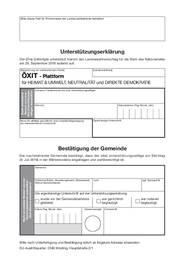 EUAUS-Unterstuetzungserklaerung für die ÖXIT-Plattform